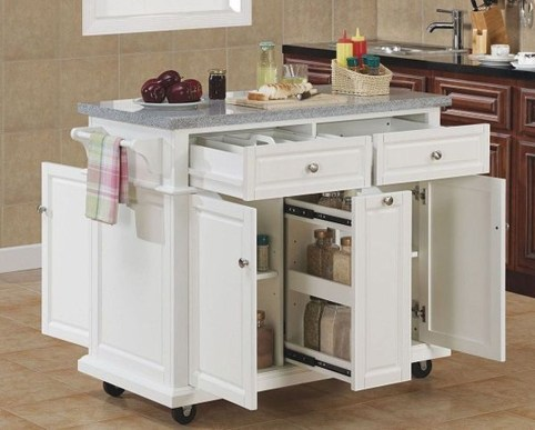 Stunning Small Kitchen Design Ideas For Home 34