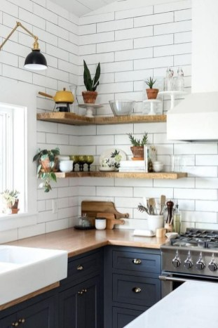 Stunning Small Kitchen Design Ideas For Home 51