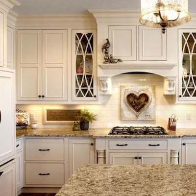 Stylish French Country Kitchen Decor Ideas 07