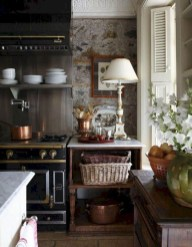 Stylish French Country Kitchen Decor Ideas 28