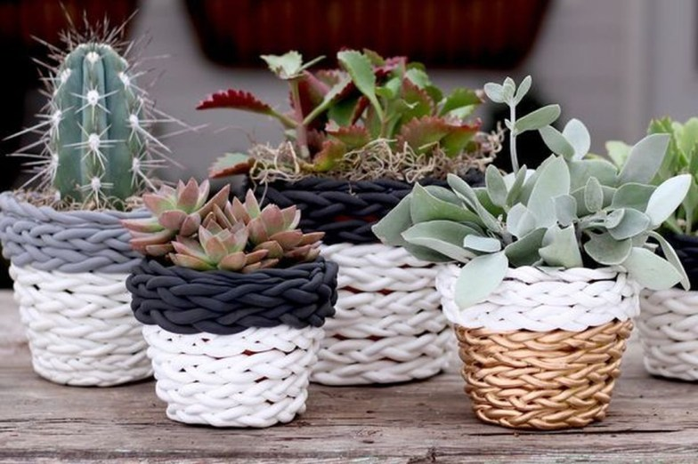Unique Diy Small Planters Ideas 18
