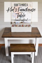 Adorable Farmhouse Tables Ideas For House 37