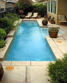 Amazing Natural Small Pools Design Ideas For Backyard 53