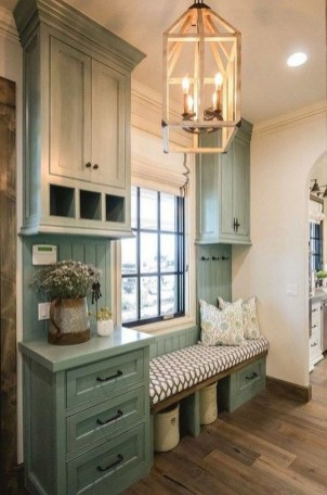 Attractive Kitchen Decorating Ideas With Farmhouse Style 42