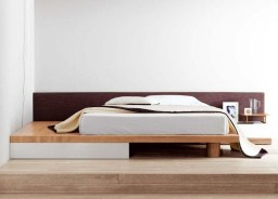 Best Wooden Platform Designs Ideas For Bed 10