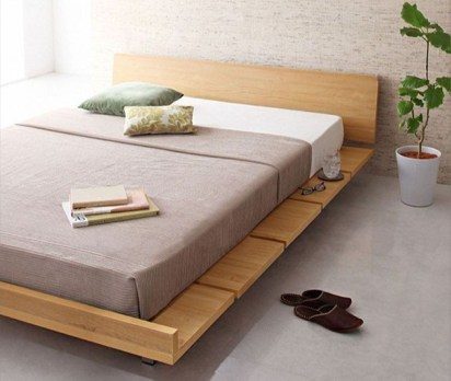 Best Wooden Platform Designs Ideas For Bed 14