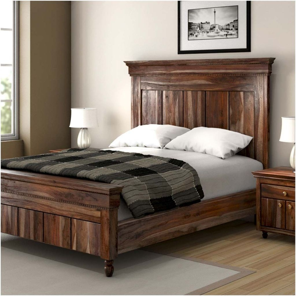 Best Wooden Platform Designs Ideas For Bed 27