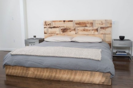 Best Wooden Platform Designs Ideas For Bed 33