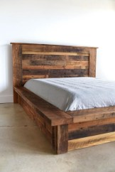 Best Wooden Platform Designs Ideas For Bed 37