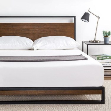 Best Wooden Platform Designs Ideas For Bed 43