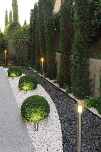Brilliant Rock Garden Landscaping Ideas For Front Yard 12