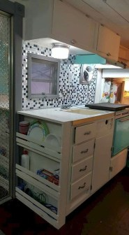 Elegant Rv Camper Organization And Storage Ideas For Travel Trailers 11