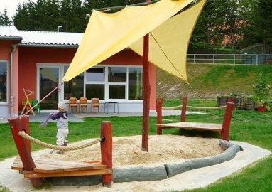 Awesome Frontyard Garden Design Ideas For Kids Playground Playground 09