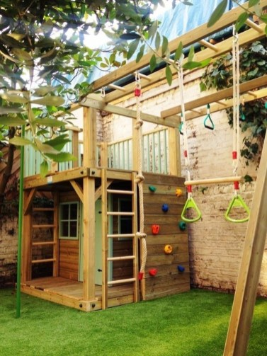 Awesome Frontyard Garden Design Ideas For Kids Playground Playground 30
