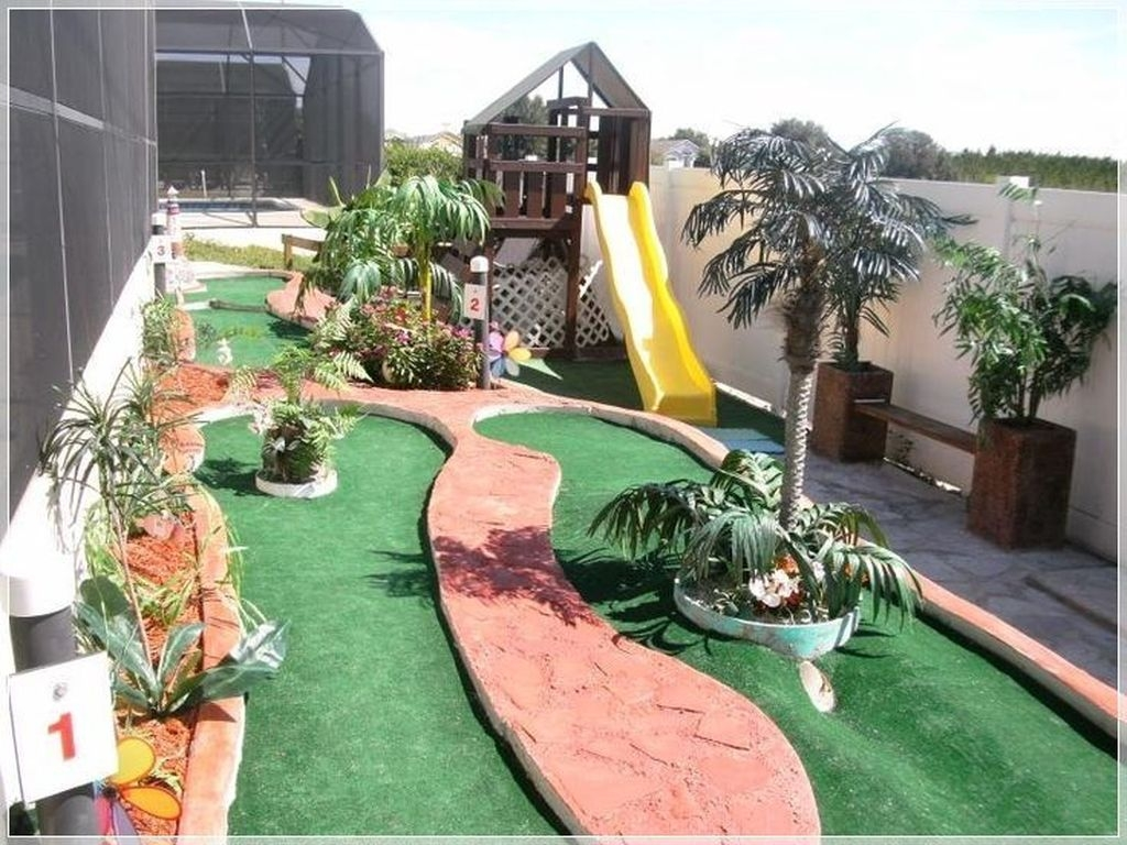 Awesome Frontyard Garden Design Ideas For Kids Playground Playground 42
