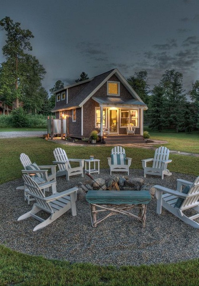 Creative Build Round Firepit Area Ideas For Summer Nights 37