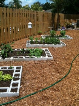 Fancy Garden Bed Borders Ideas For Vegetable And Flower 07