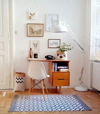 Lovely Small Home Office Ideas 42