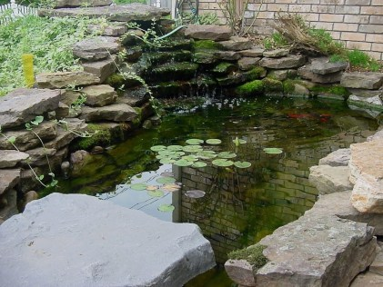 Modern Diy Garden Pond Waterfall Ideas For Backyard 03