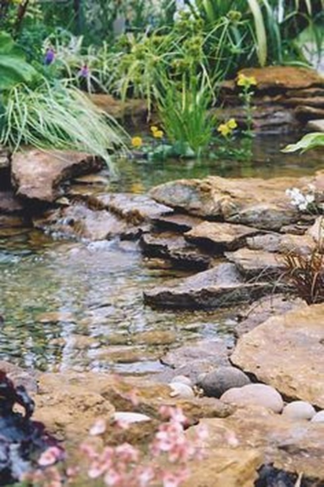 Modern Diy Garden Pond Waterfall Ideas For Backyard 20