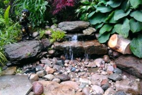 Modern Diy Garden Pond Waterfall Ideas For Backyard 32
