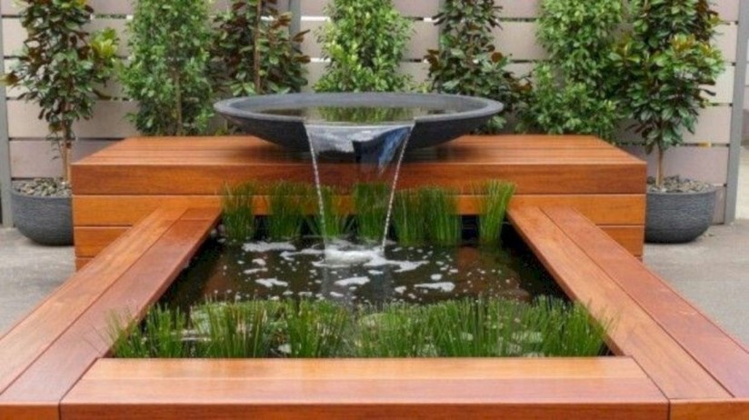 Modern Diy Garden Pond Waterfall Ideas For Backyard 51