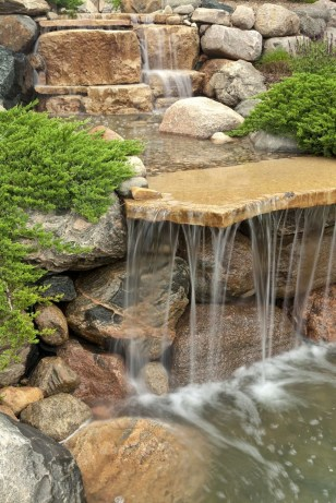 Modern Diy Garden Pond Waterfall Ideas For Backyard 52
