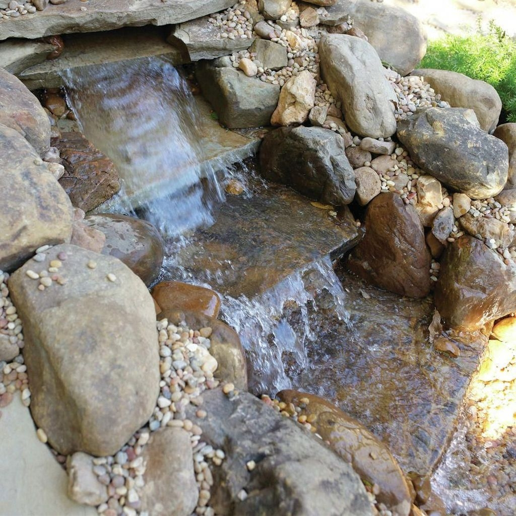 Modern Diy Garden Pond Waterfall Ideas For Backyard 53