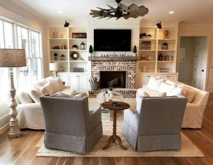 Wonderful Family Room Design Ideas That Comfortable 36