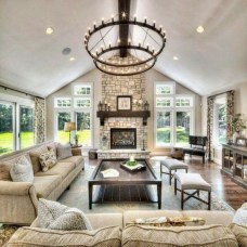 Wonderful Family Room Design Ideas That Comfortable 45