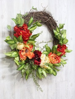 Beautiful Summer Wreath Design Ideas To Try Asap 03