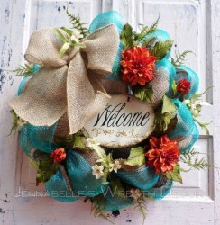Beautiful Summer Wreath Design Ideas To Try Asap 37
