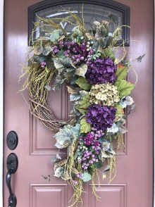 Beautiful Summer Wreath Design Ideas To Try Asap 48