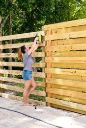 Charming Privacy Fence Ideas For Gardens 43