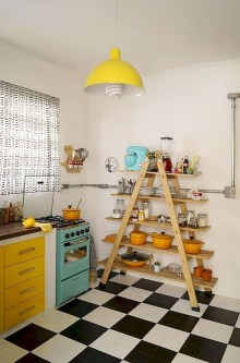 Cool Colorful Kitchen Decor Ideas For Summer 11