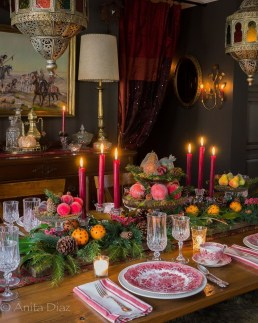 Hottest Christmas Table Decorating Ideas For You 22