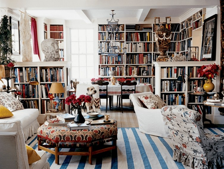 Magnificient Home Design Ideas With Library You Should Keep 07