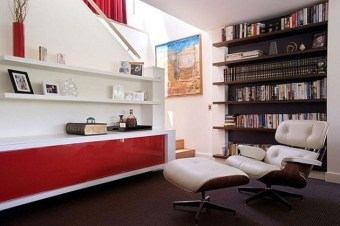 Magnificient Home Design Ideas With Library You Should Keep 09