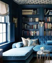 Magnificient Home Design Ideas With Library You Should Keep 34