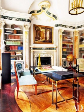 Magnificient Home Design Ideas With Library You Should Keep 39