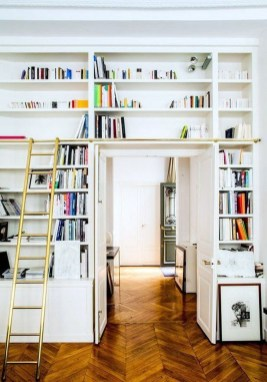 Magnificient Home Design Ideas With Library You Should Keep 41