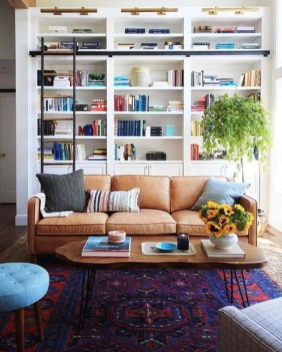 Magnificient Home Design Ideas With Library You Should Keep 47