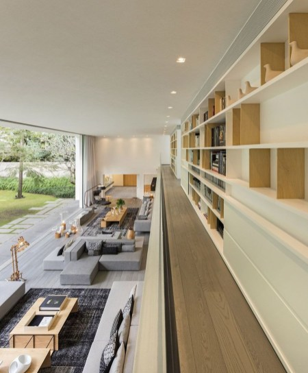 Magnificient Home Design Ideas With Library You Should Keep 52