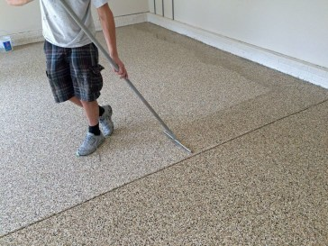 Pretty Garage Floor Design Ideas That You Can Try In Your Home 45