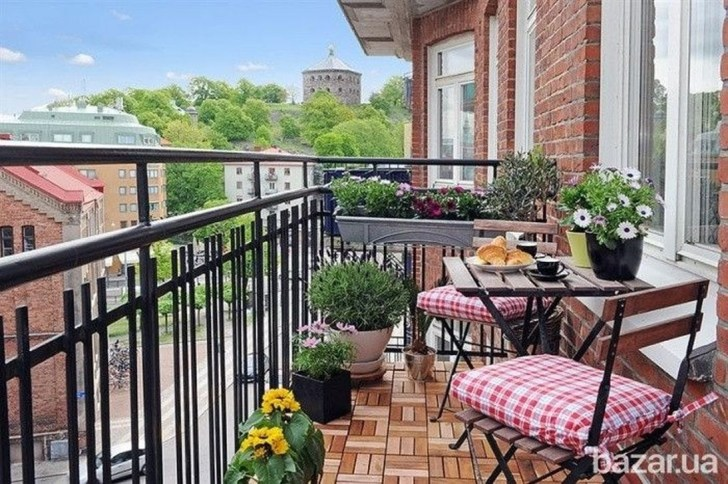 Cool Apartment Balcony Design Ideas For Small Space 18