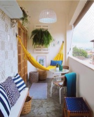 Cool Apartment Balcony Design Ideas For Small Space 31
