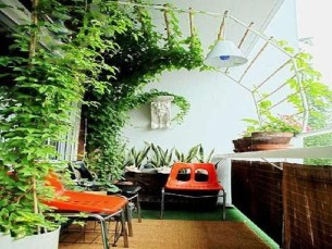 Cool Apartment Balcony Design Ideas For Small Space 48