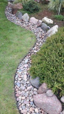 Cozy Rock Garden Landscaping Ideas For Make Your Yard Beautiful 06