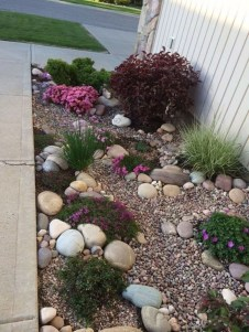 Cozy Rock Garden Landscaping Ideas For Make Your Yard Beautiful 10