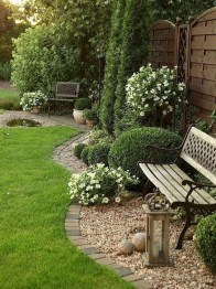 Cozy Rock Garden Landscaping Ideas For Make Your Yard Beautiful 47